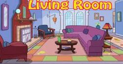 Living Room clipart comic