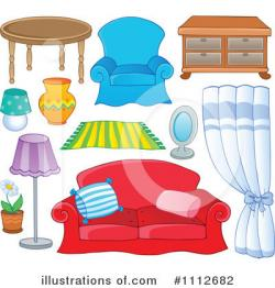 Living Room clipart bedroom item