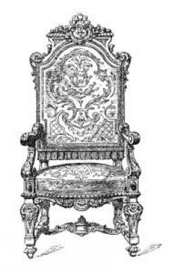 Throne clipart old