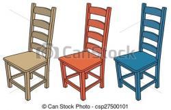 Iiii clipart chair