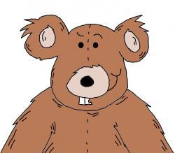 Teddy clipart fuzzy