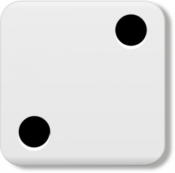 Dice clipart side 2