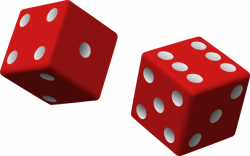 Dice clipart transparent background