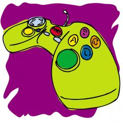 Controller clipart pink