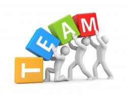 Motivational clipart team success