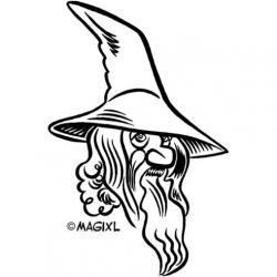 Hobbit clipart gandalf
