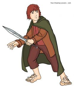 Bilbo Baggins clipart cartoon
