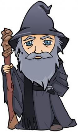Gandalf clipart cartoon