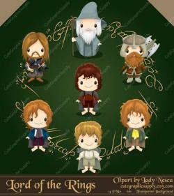 Lord Of The Rings clipart magical