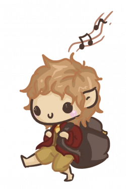 Bilbo Baggins clipart chibi