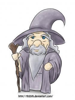 Gandalf clipart chibi