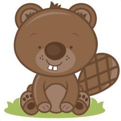 Beaver clipart adorable