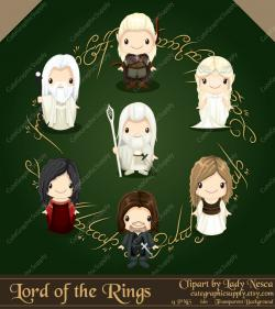 Lord Of The Rings clipart fellowship