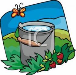Fawcet clipart water pail