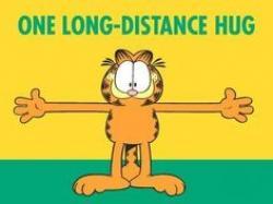 Garfield clipart miss you