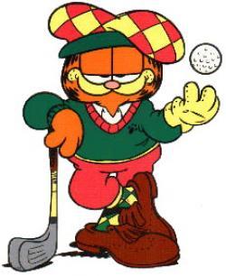 Garfield clipart sport