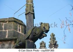 Gargoyle clipart church