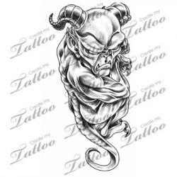 Gargoyle clipart demon