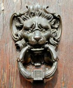 Gargoyle clipart door knocker