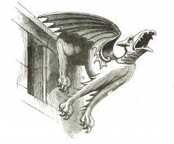 Gargoyle clipart old