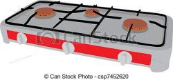 Gas Cooker clipart