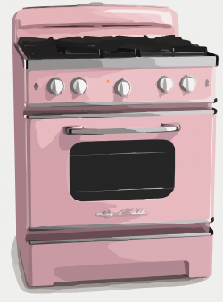 Gas Cooker clipart appliance