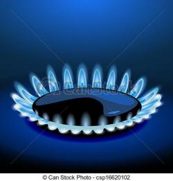 Gas Cooker clipart gas flame