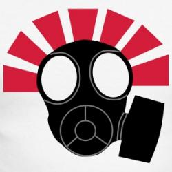 Gas Mask clipart baseball