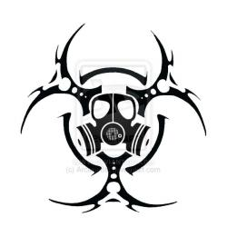 Gas Mask clipart bio