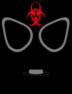 Gas Mask clipart biohazard