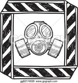 Gas Mask clipart biological