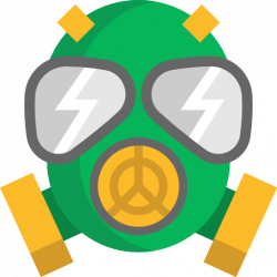 Gas Mask clipart chemical