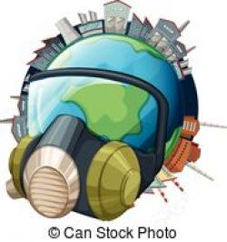 Gas Mask clipart earth