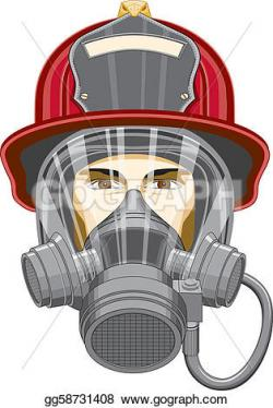 Gas Mask clipart firefighter