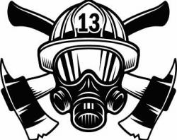 Helmet clipart firefighter equipment