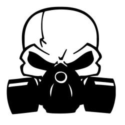 Gas Mask clipart grenade