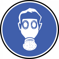 Gas Mask clipart hazard