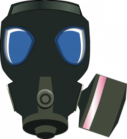 Gas Mask clipart poison
