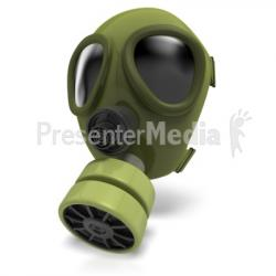 Gas Mask clipart radiation
