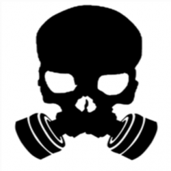 Gas Mask clipart skull