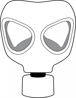 Gas Mask clipart toxic
