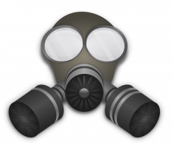 Gas Mask clipart warfare