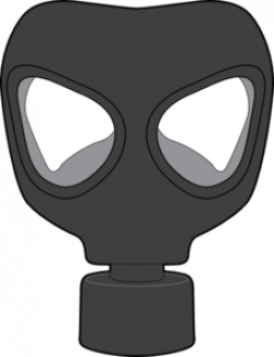 Gas Mask clipart ww2