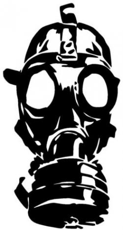Gas Mask clipart zombie