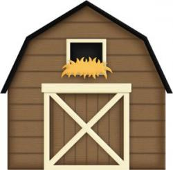 Barn clipart cow shed