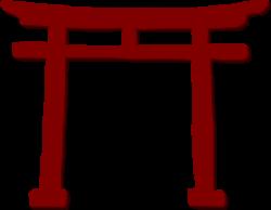 Shrine clipart japanese gate