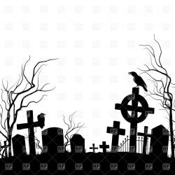 Tombstone clipart fence