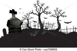 Cemetery clipart graveyard