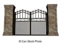 Gate clipart closed gate