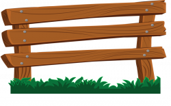 Ranch clipart wood fence